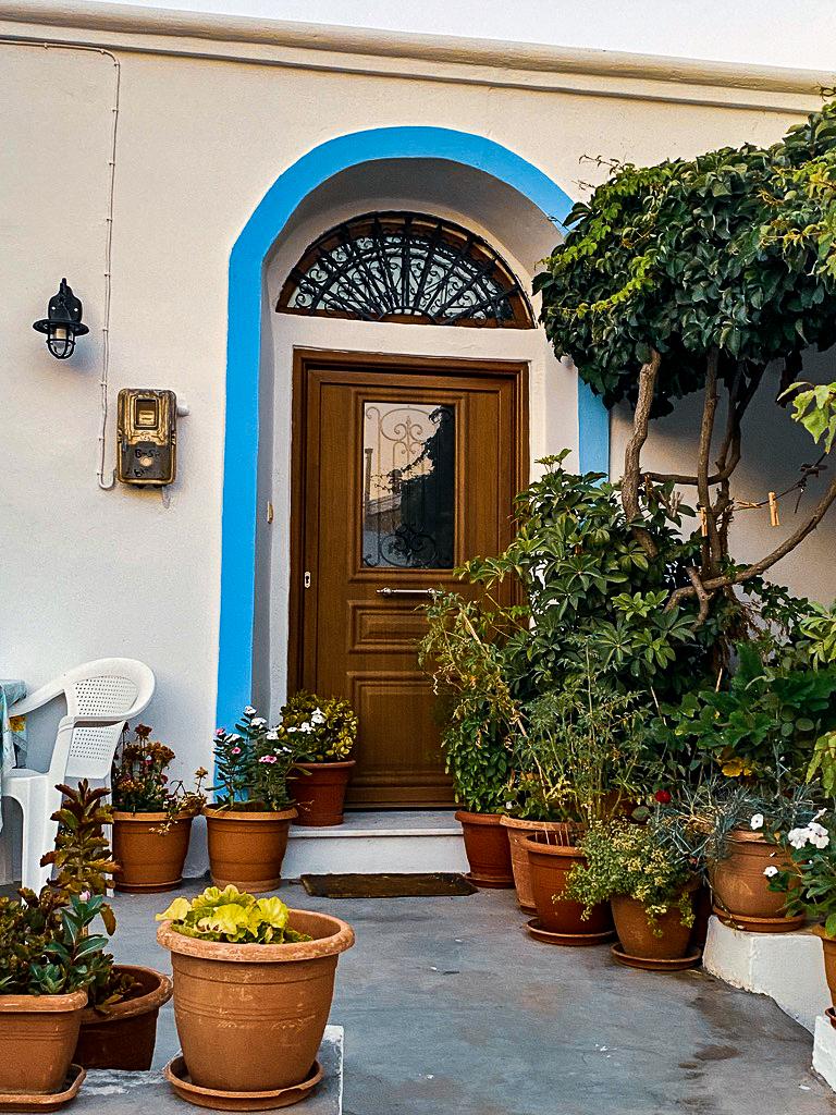 typisches Haus in Lagoudi