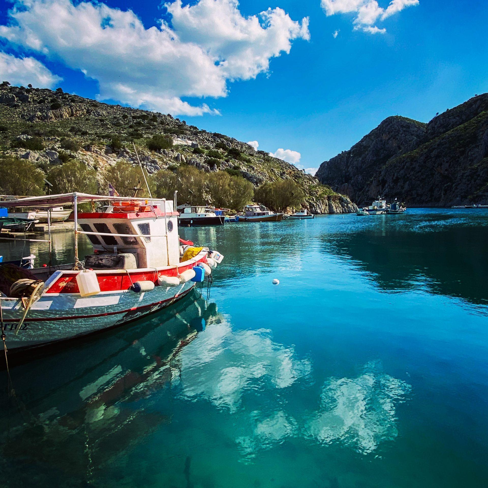 Kalymnos Bucht von Vathi