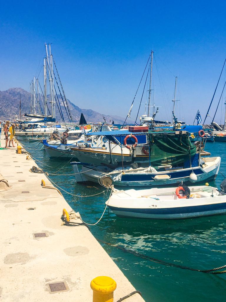Der Hafen von Kardamena