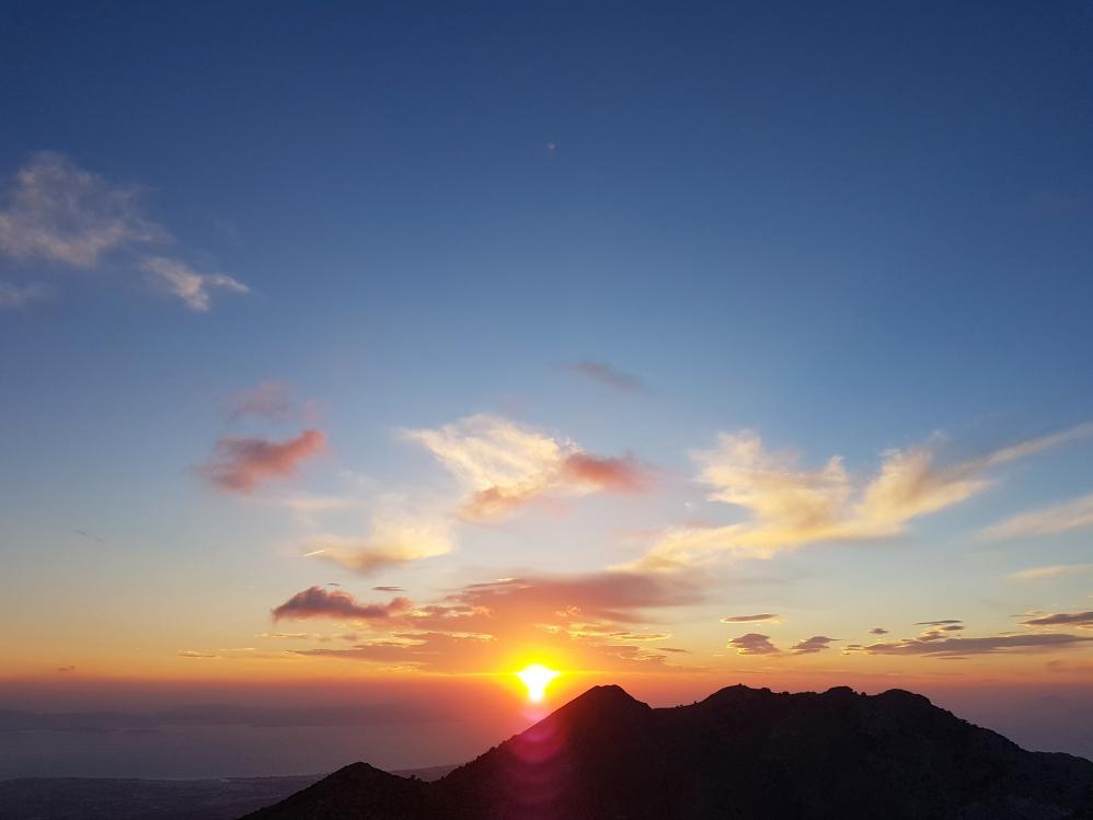 Sonnenaufgang Dikeos