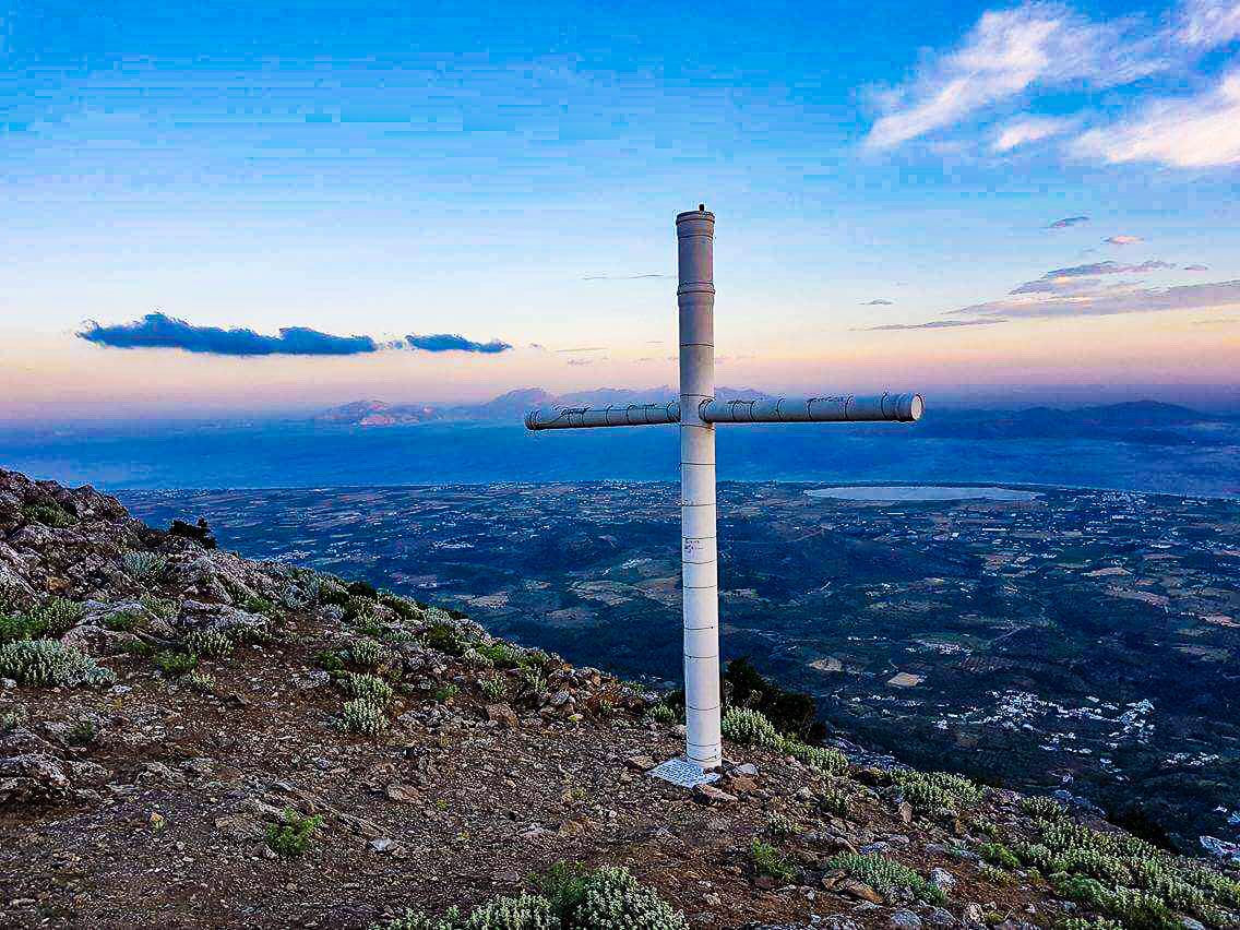 Gipfelkreuz Dikeos