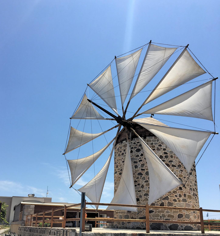 die Wndmühle in Antimachia